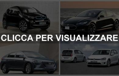 Auto elettriche in commercio 2017