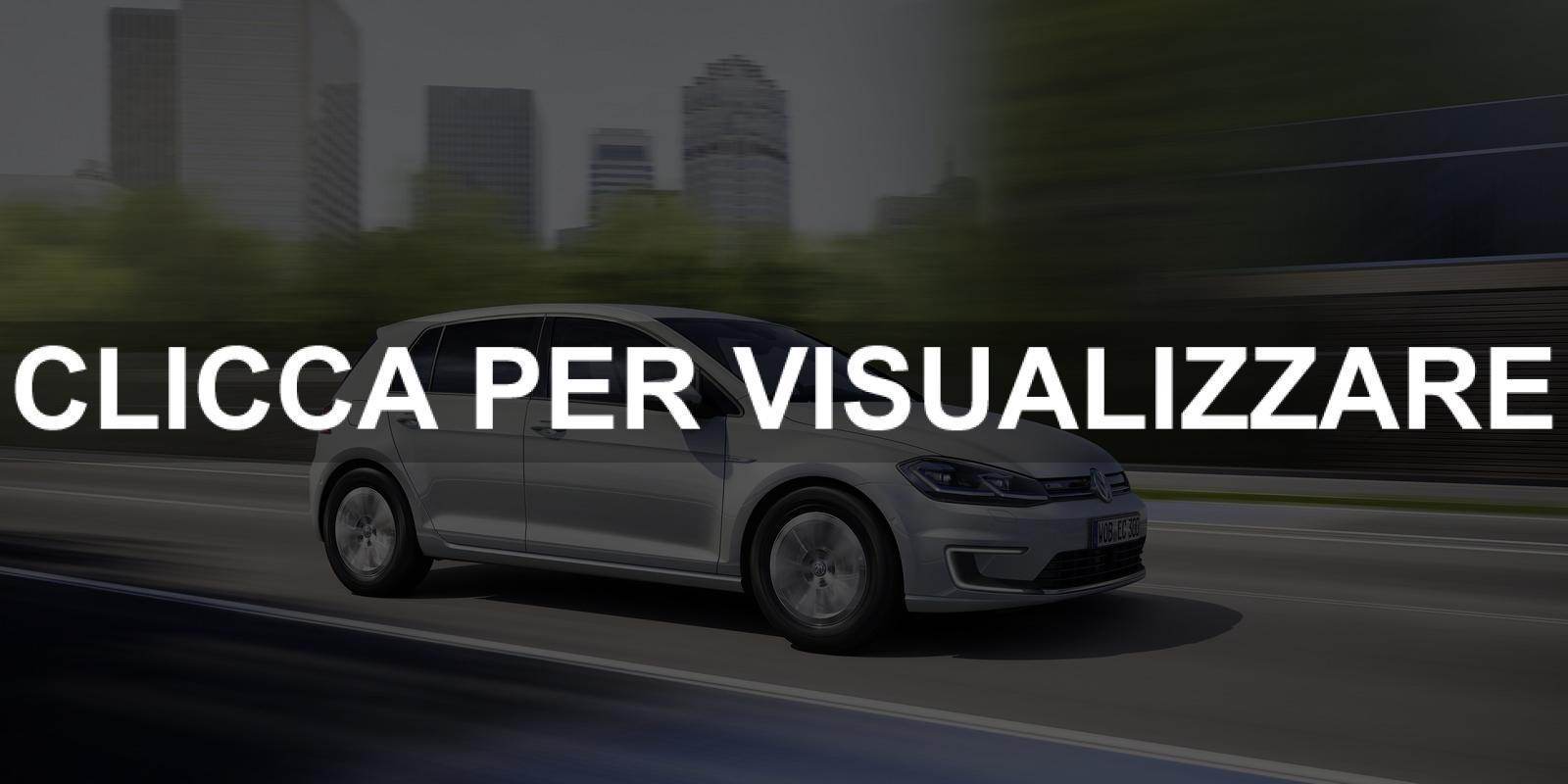 Foto nuova Volkswagen e Golf elettrica 2017