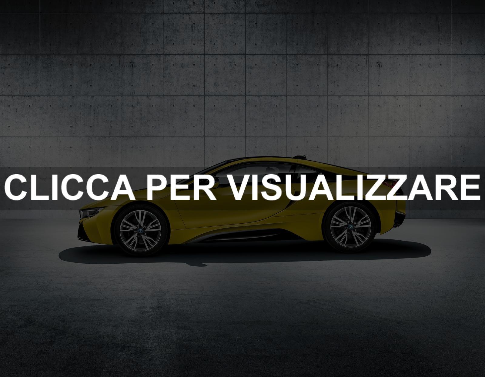 Immagine fiancata nuova ibrida BMW i8 Frozen Protonic Yellow Edition 2017
