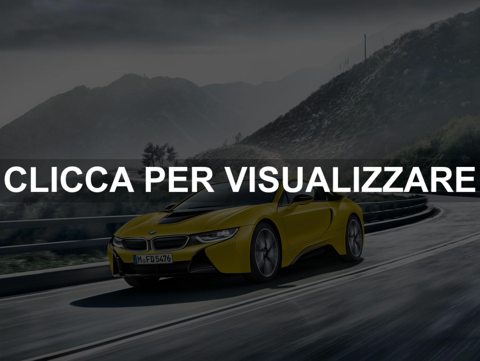 Immagini nuova BMW ibrida i8 Protonic Frozen Yellow Edition 2017