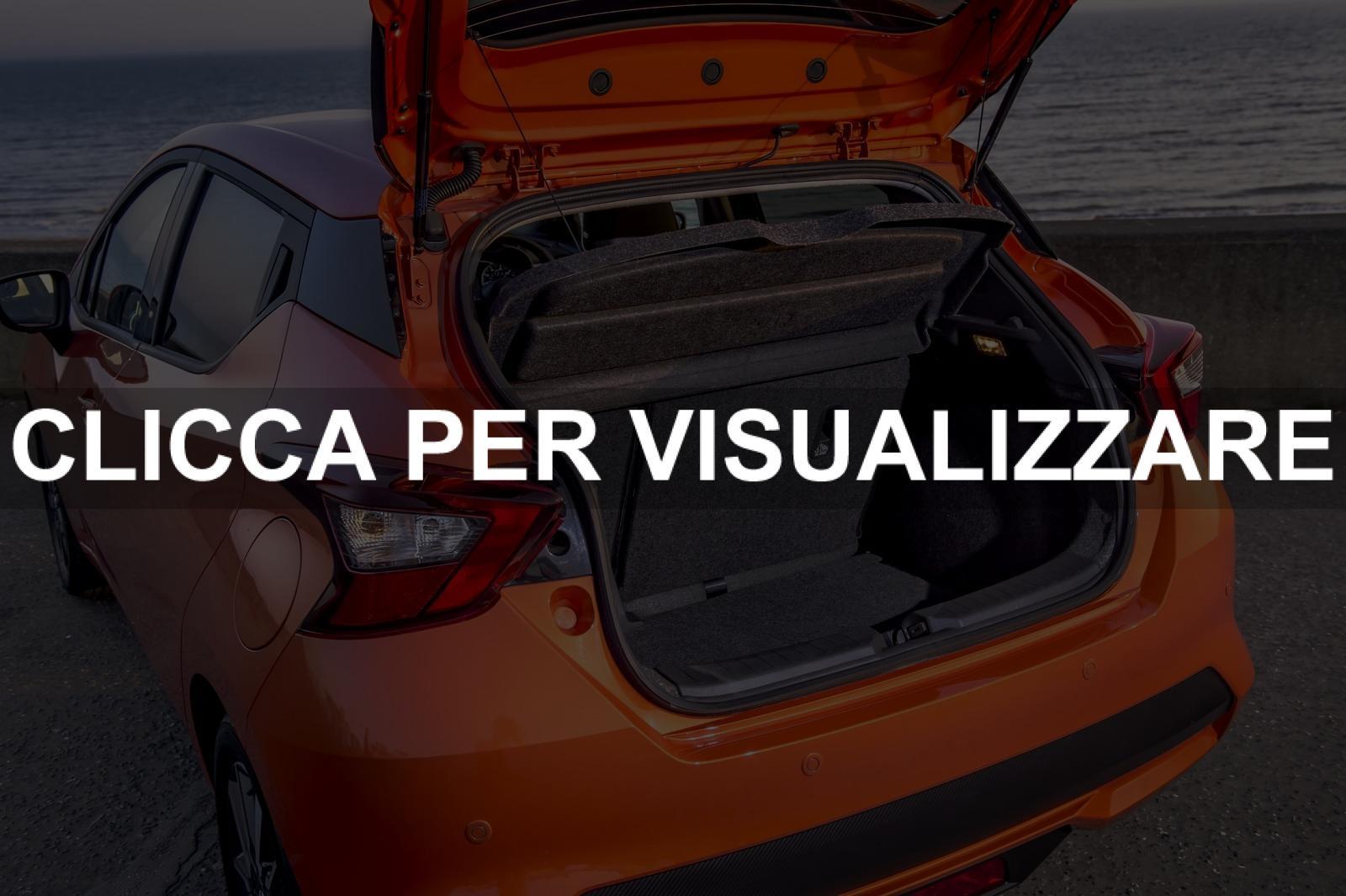 Capacita bagagliaio nuova Nissan Micra 2017 - Autonext