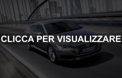 Foto e Dimensioni Nuova Volkswagen Arteon 2017