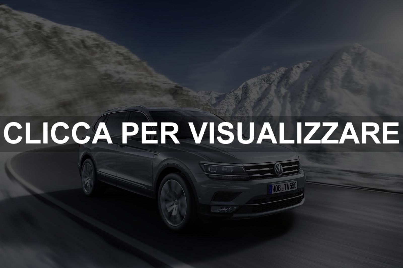 Volkswagen Tiguan Allspace 2017 Nuovo Suv A 7 Posti