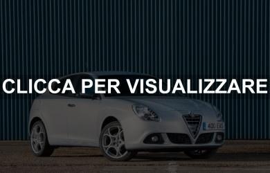 Noleggio auto liberi professionisti Alfa Romeo Giulietta