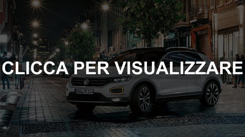 Listino Prezzi nuova Volkswagen T ROC 2018