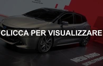 Nuova Toyota Auris Hybrid 2018