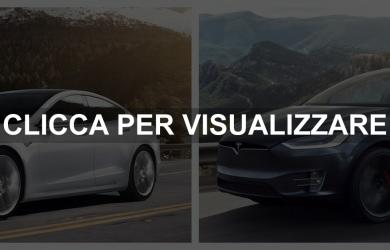 Prezzi e Dimensioni Tesla Model X e Tesla Model S