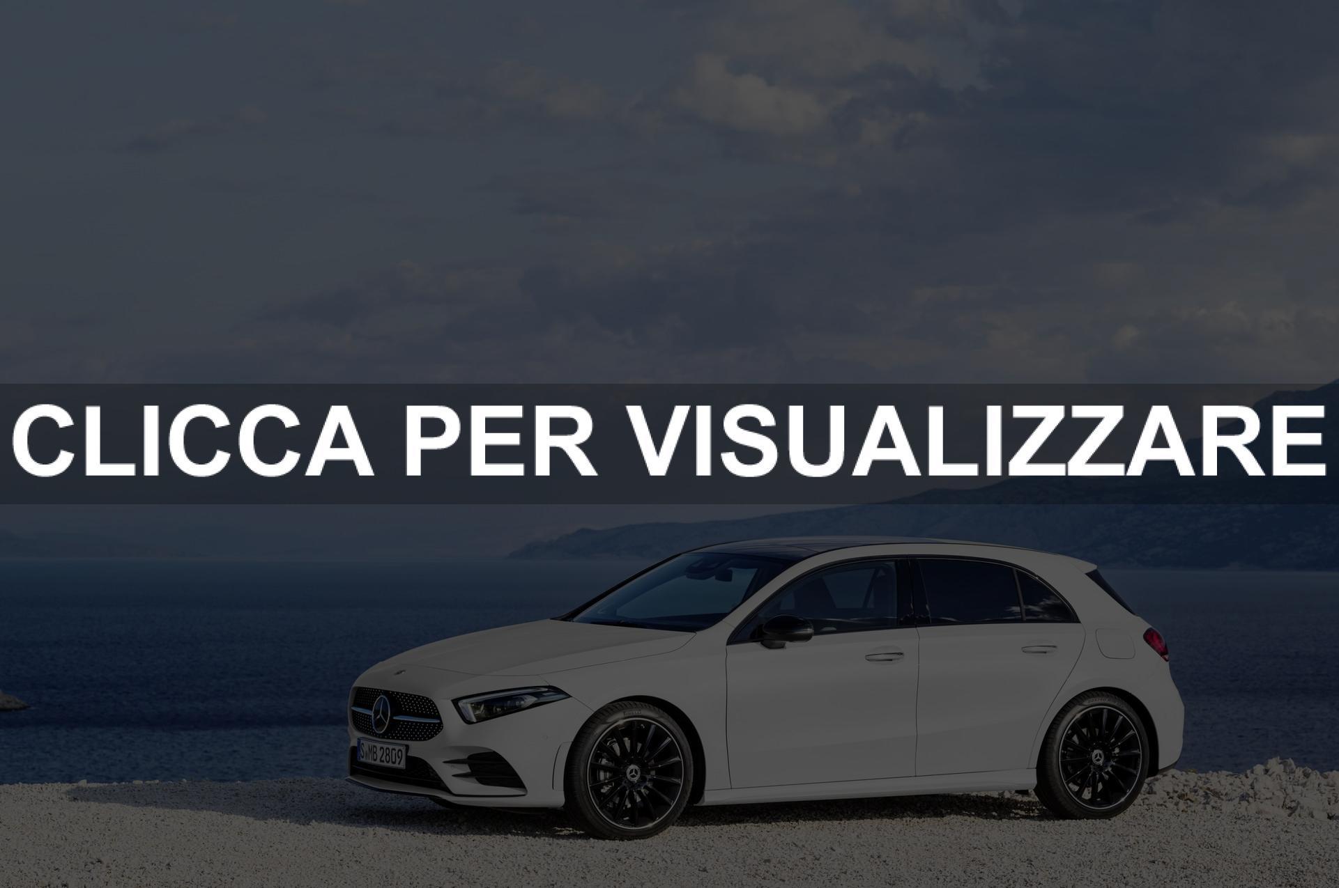 Listino Prezzi nuova Mercedes Classe A 2018