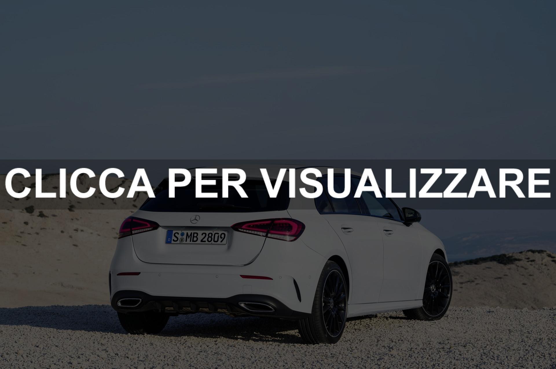 Prezzo Mercedes Classe A 2018