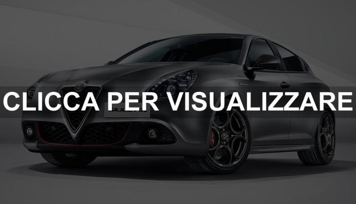 Promozione Alfa Romeo Giulietta Aprile 2018