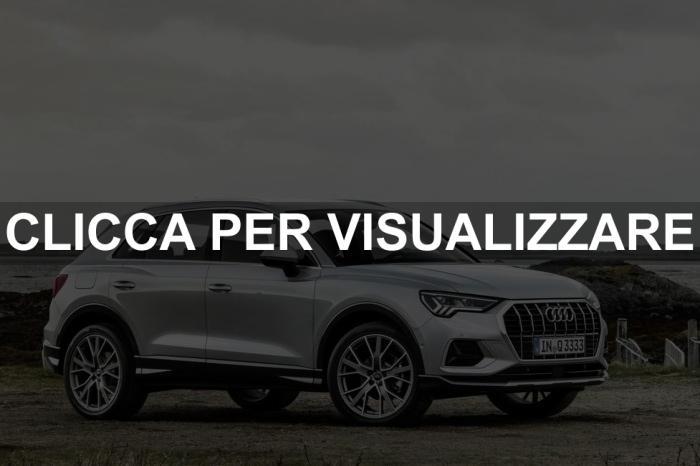 Nuova Audi Q3 2018 Foto Dimensioni Uscita