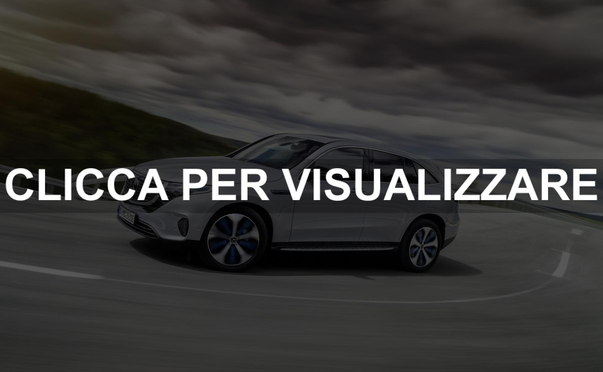 Immagini nuovo suv medio Mercedes elettrico EQC 2019