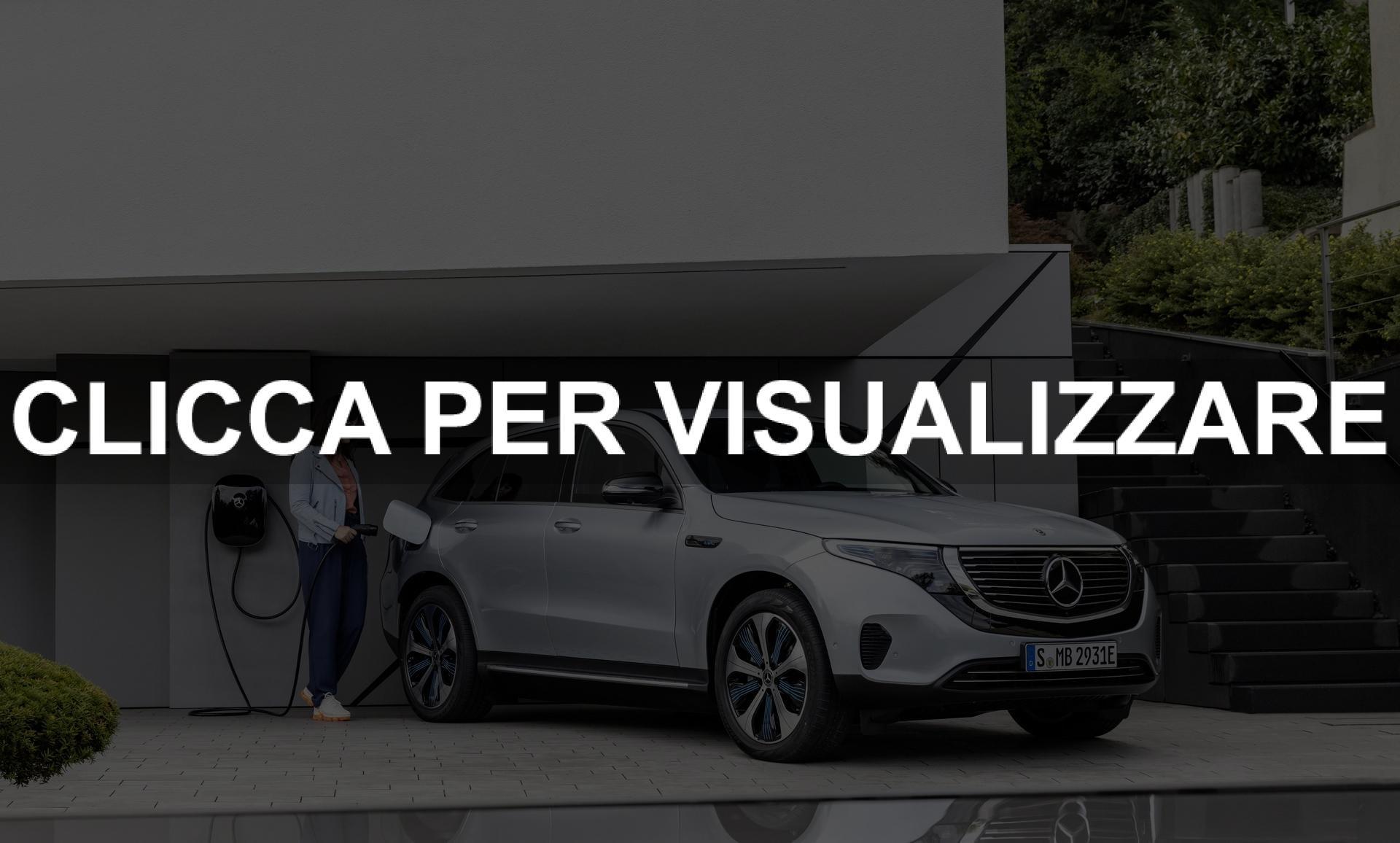 Nuova Mercedes elettrica EQC uscita 2019