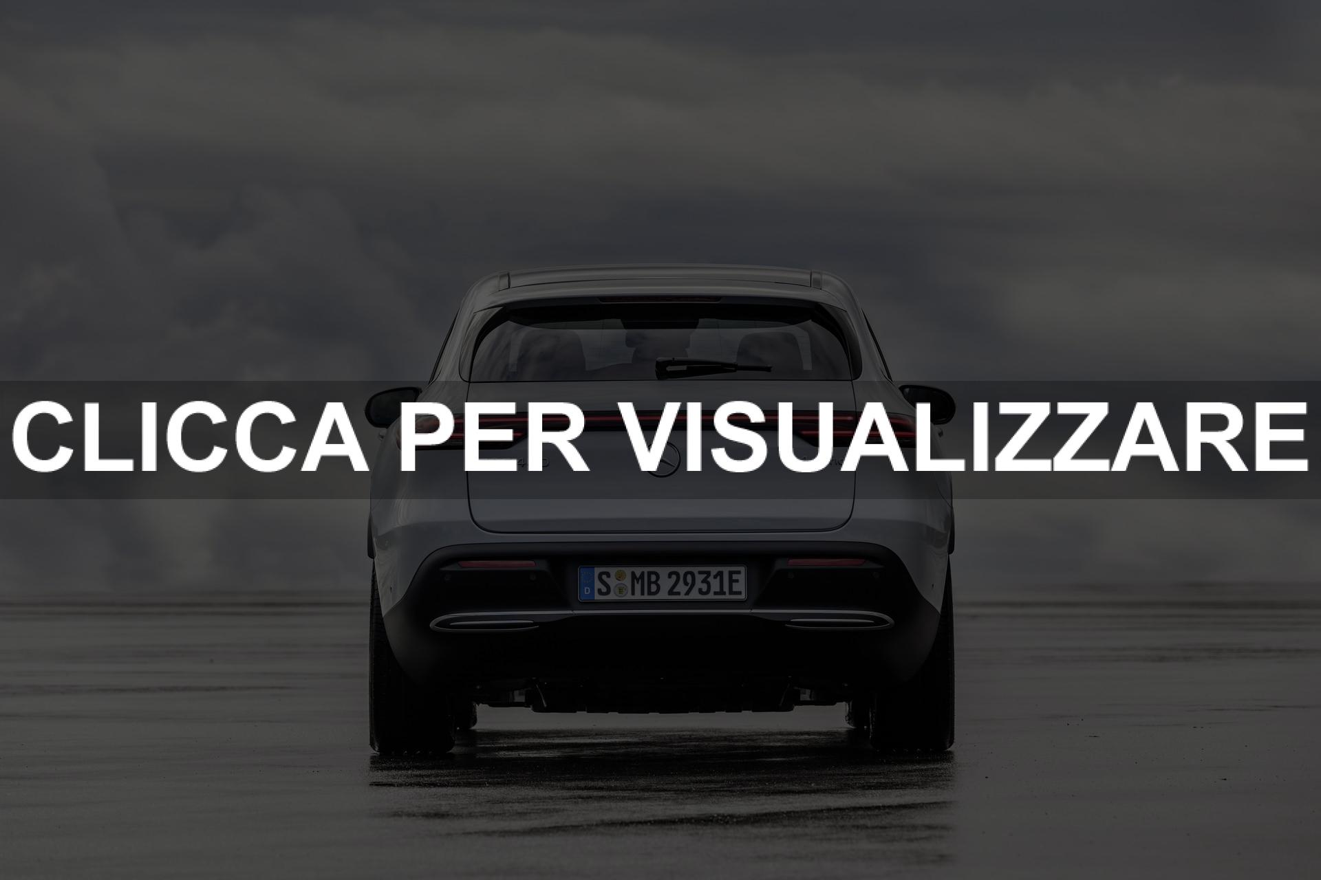 Posteriore Nuova Mercedes EQC elettrica 2019