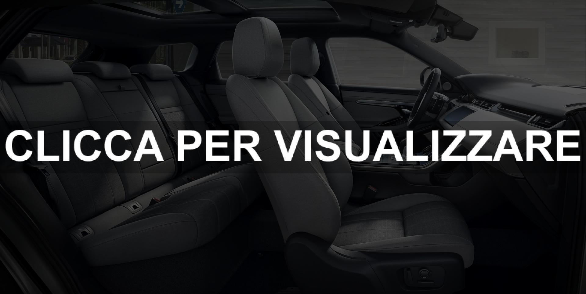 Abitacolo nuovo Range Rover Evoque 2019