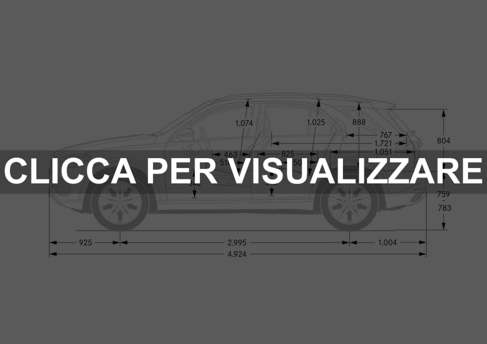 Dimensioni Mercedes GLE 2019