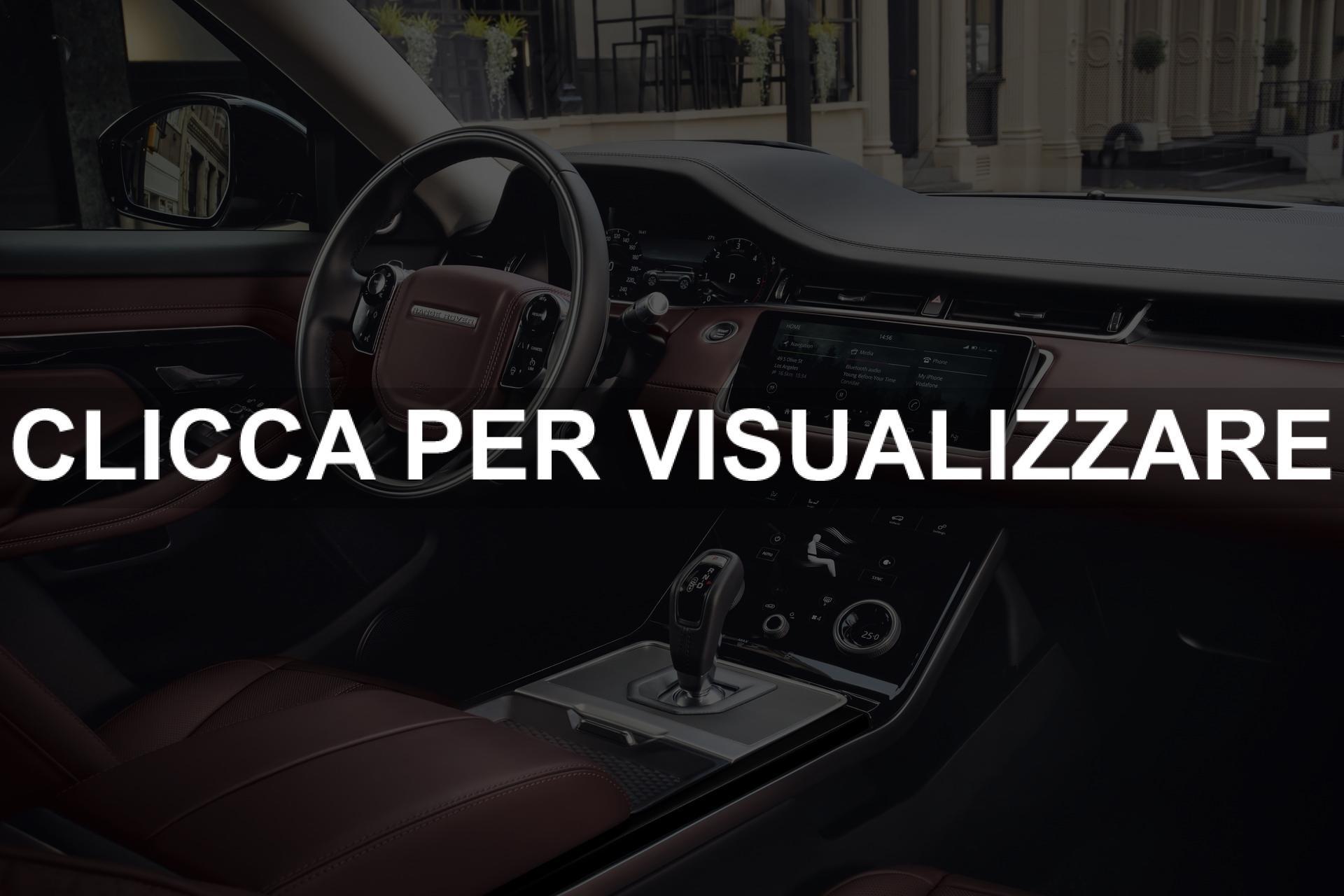 Immagine interni plancia e volante nuova Range Rover Evoque 2019