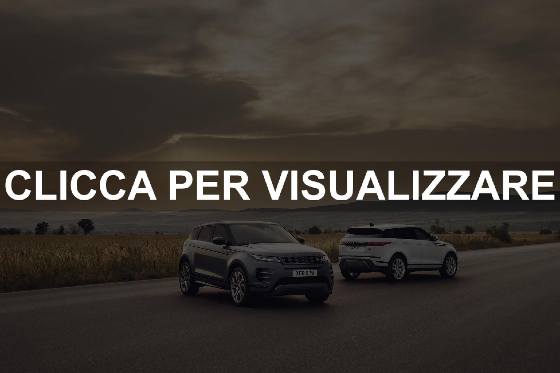 Immagini e Dimensioni nuova Range Rover Evoque