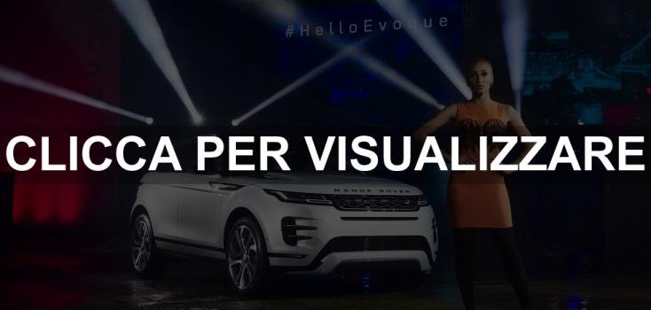 Presentazione nuova Range Rover Evoque