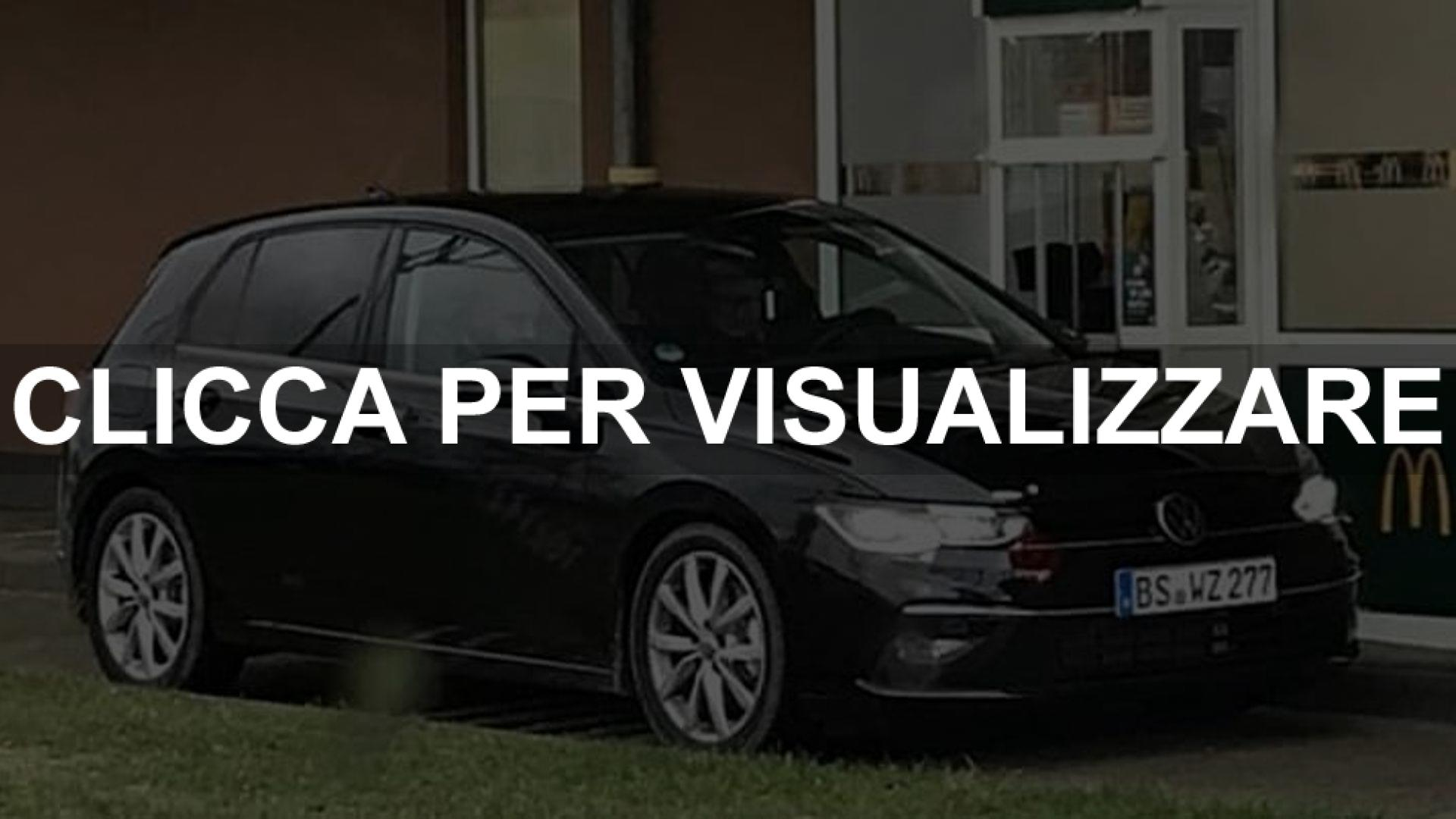 Foto spia nuova Volkswagen Golf 8