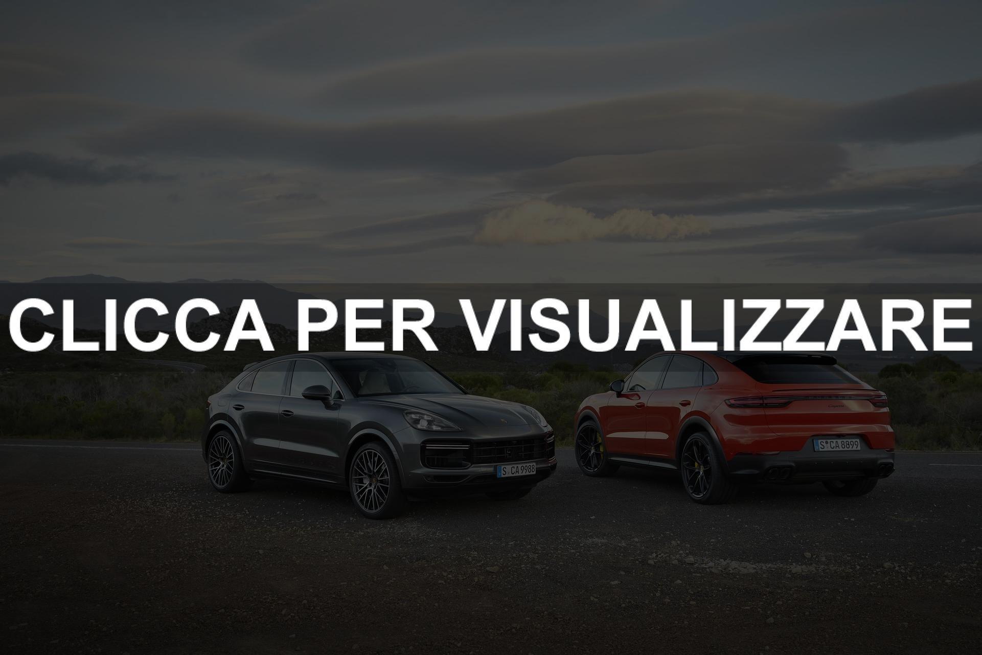 Dimensioni e Motori nuova Porsche Cayenne Turbo in uscita a maggio 2019