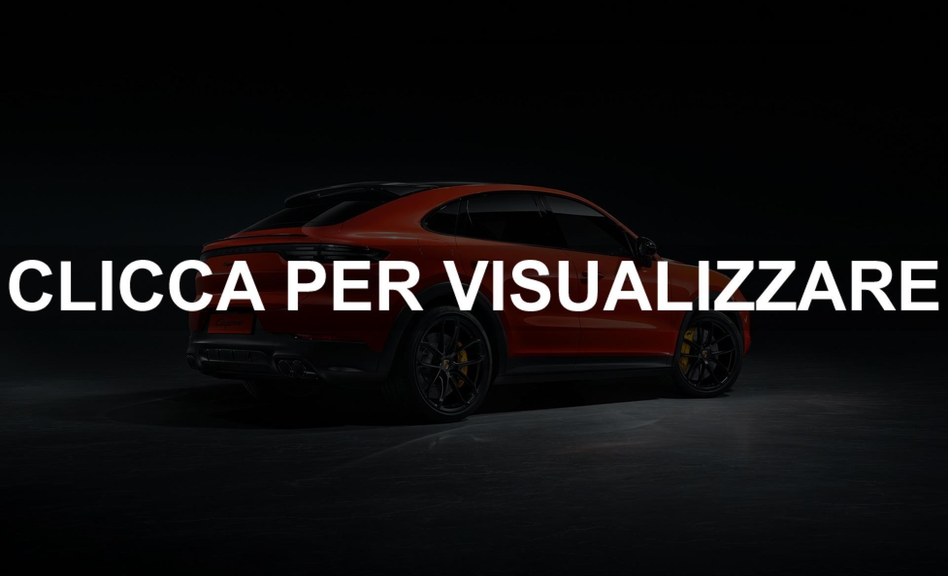 Foto nuova Porsche Cayenne Coupe 2019