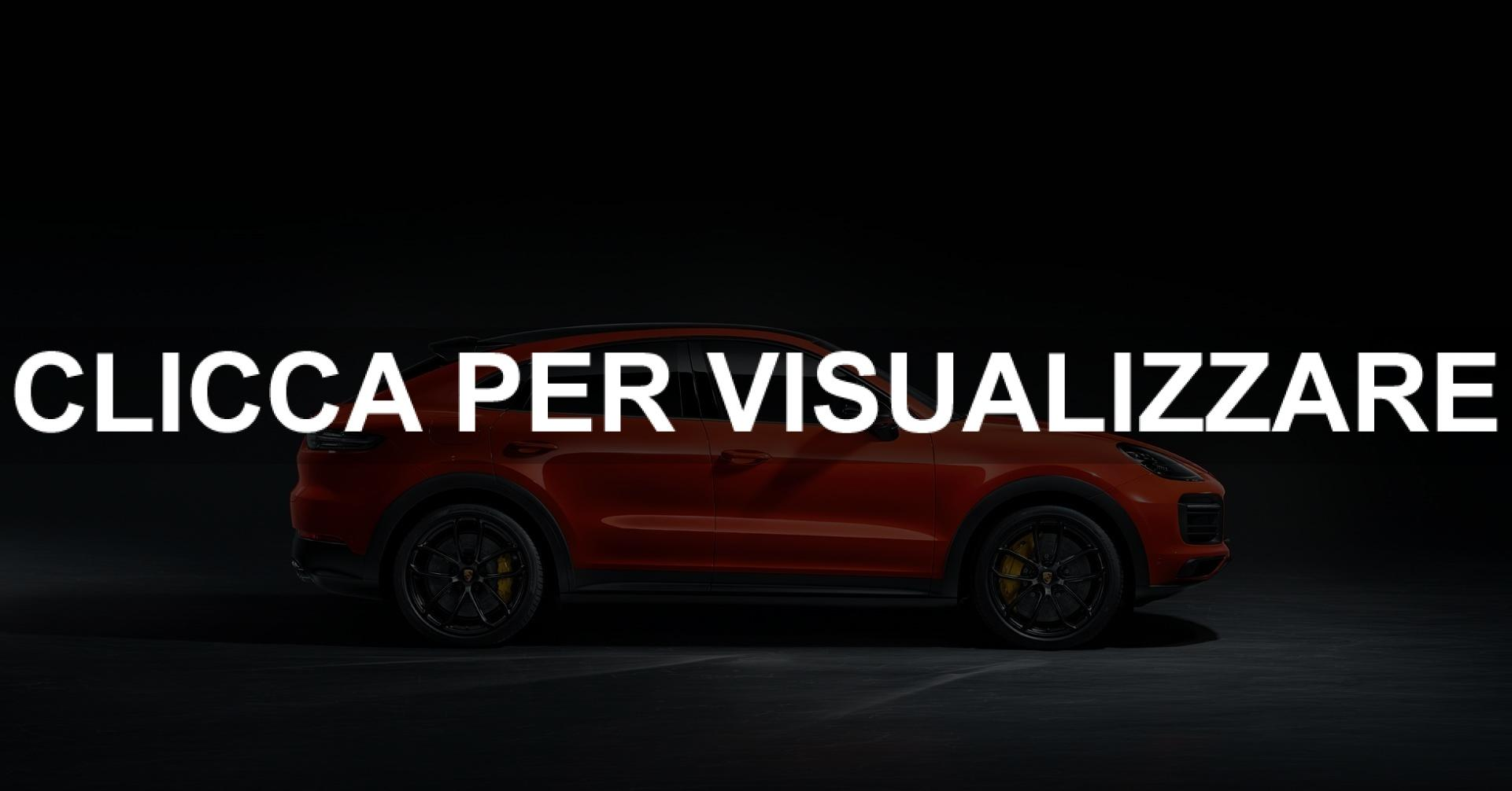 Immagine fiancata nuova Porsche Cayenne Coupe 2019