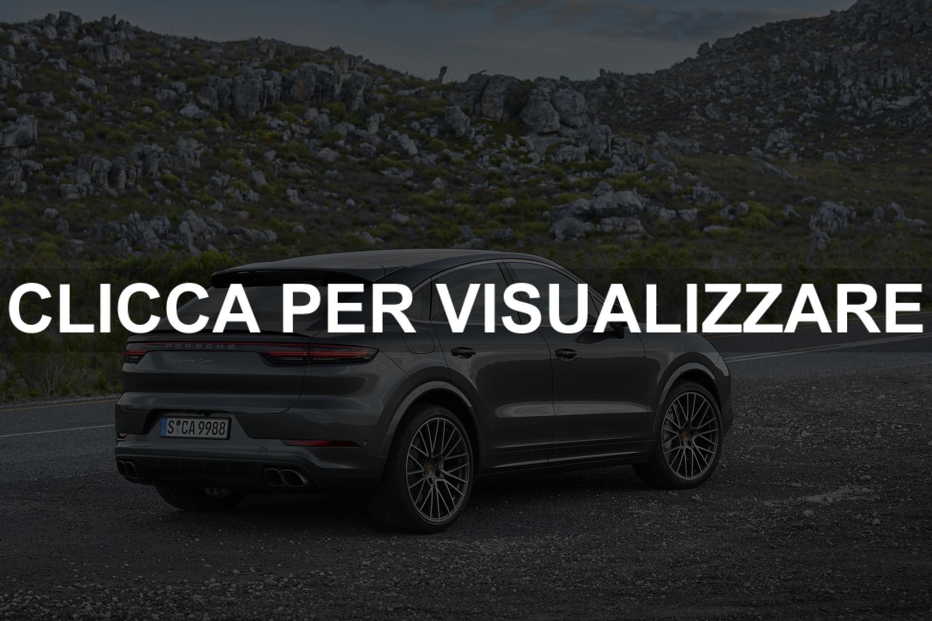 Nuova Porsche Cayenne Turbo Coupe 2019