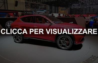Nuovo Suv compatto Alfa Romeo Tonale Concept 2019