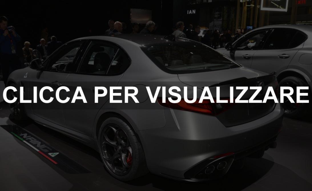 Alfa Romeo Giulia Quadrifoglio NRING al Salone di New York 2019