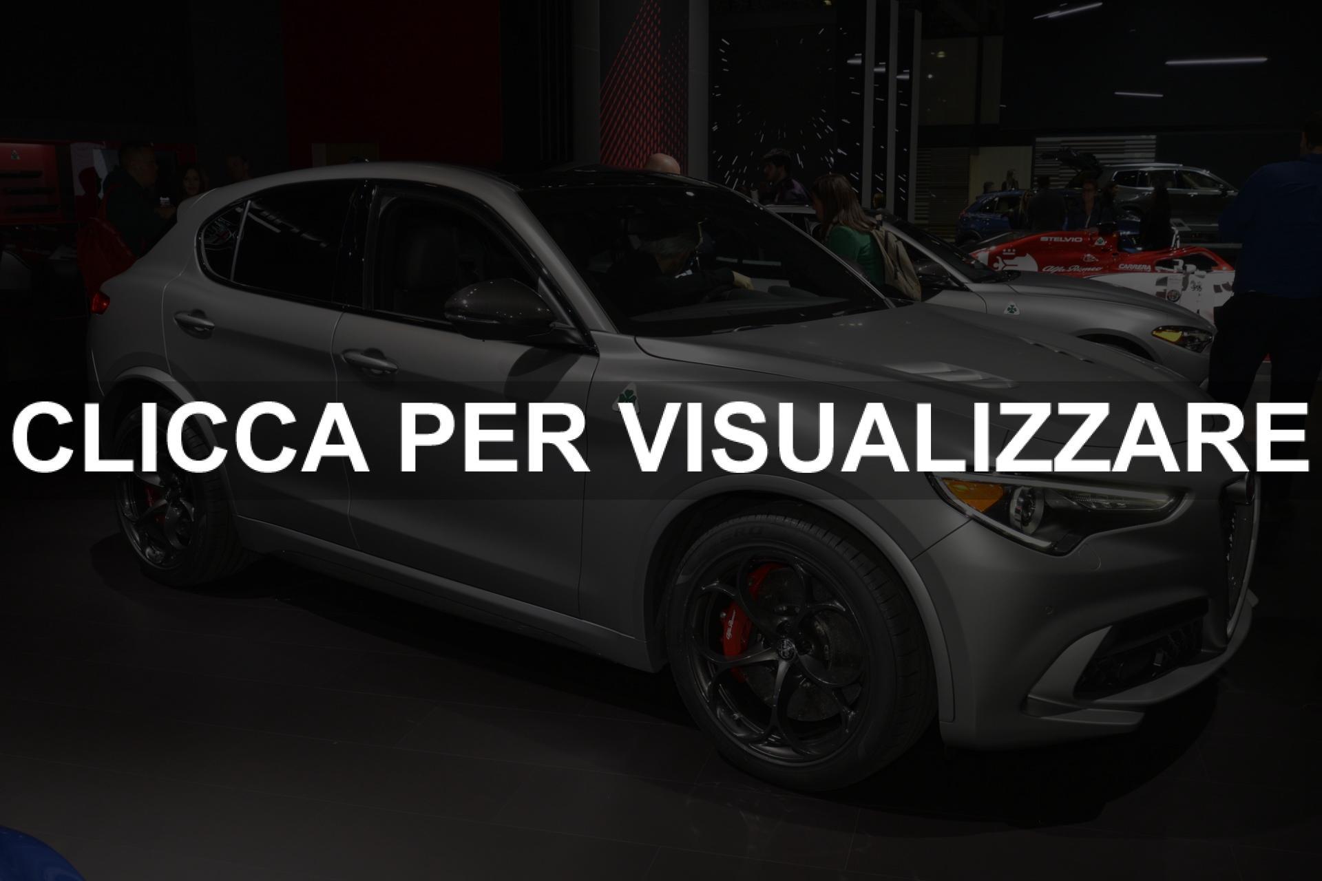 Alfa Romeo Stelvio QV Nring al Salone di New York 2019