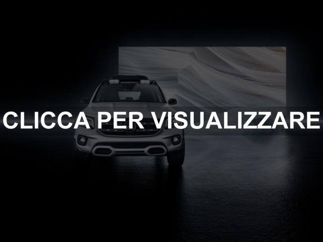Frontale concept nuovo suv Mercedes GLB