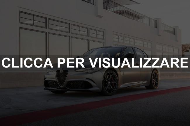 Immagine Alfa Romeo Giulia QV Nring