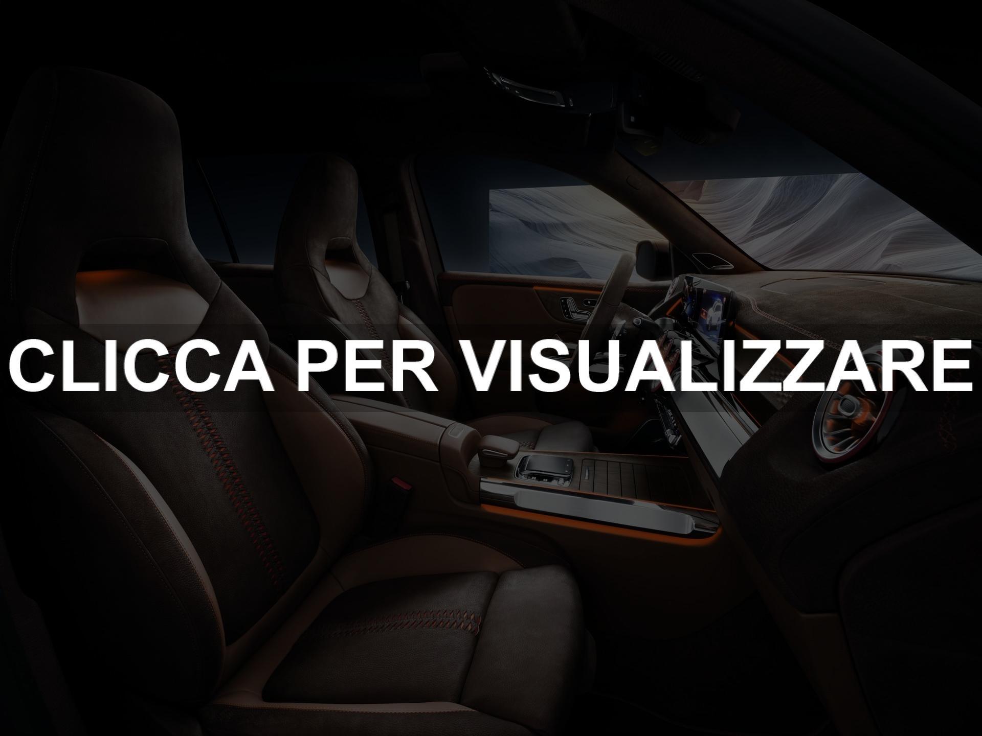 Immagine abitacolo concept nuovo suv Mercedes GLB
