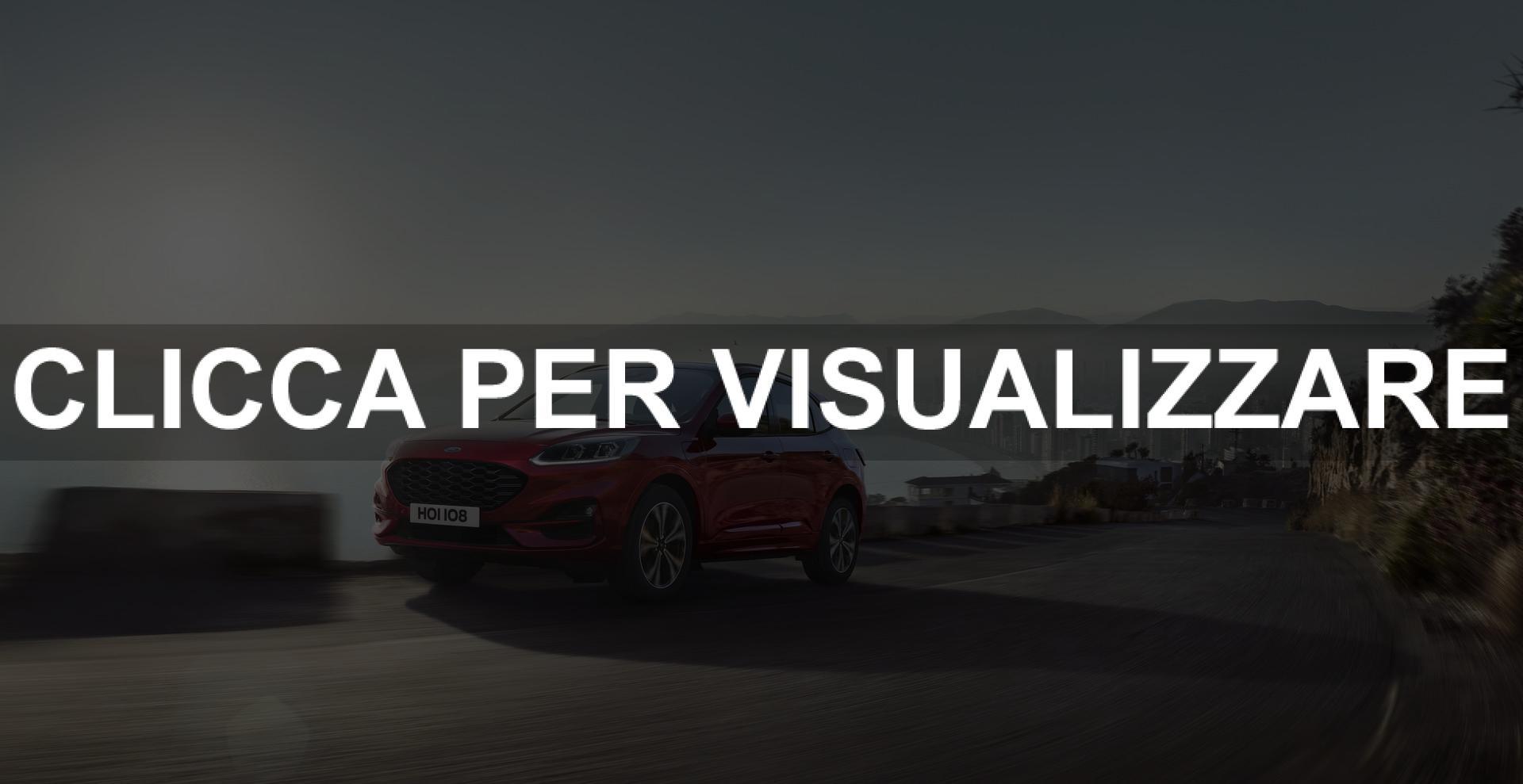 Immagine frontale nuova Ford Kuga 2019