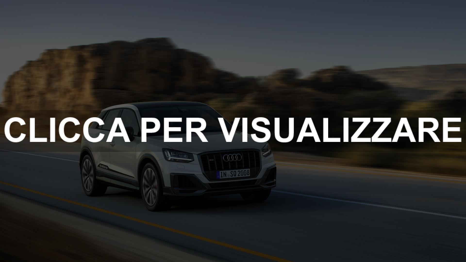 Immagini e Prezzi nuova Audi SQ2 2019