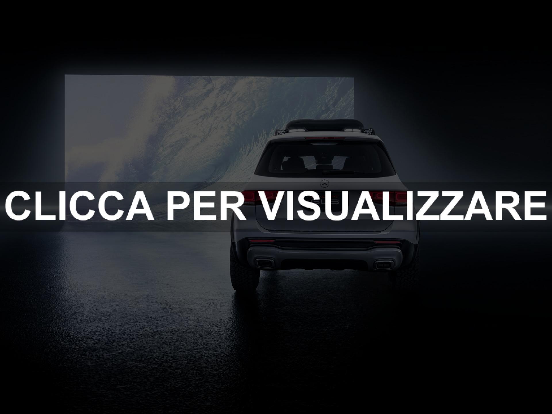 Posteriore concept nuovo suv Mercedes GLB