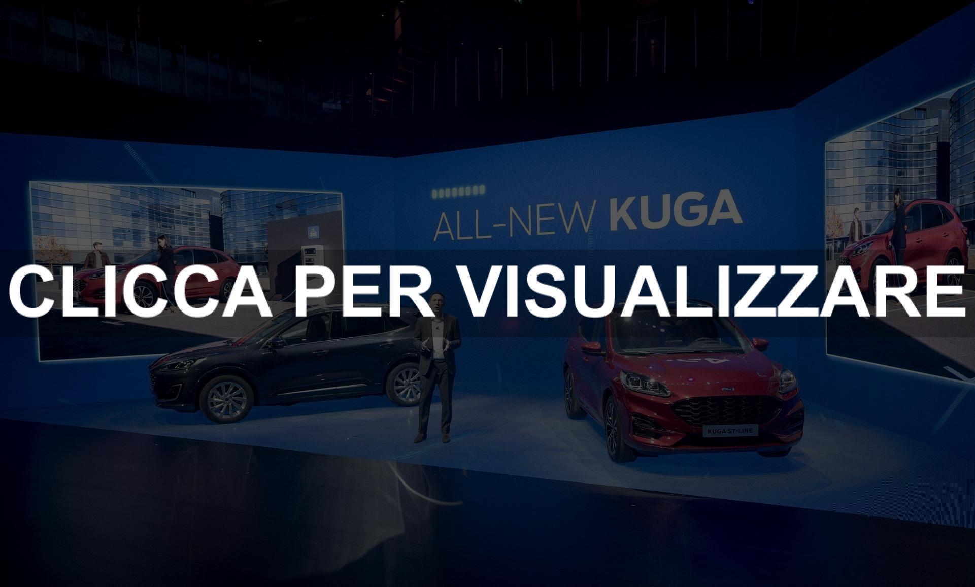Presentata la nuova Ford Kuga 2019