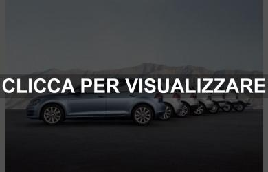 Tutte le serie Volkswagen Golf