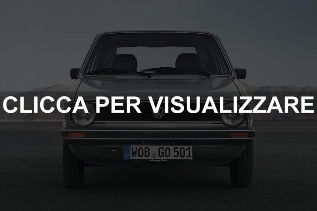 Volkswagen Golf serie 2 1983