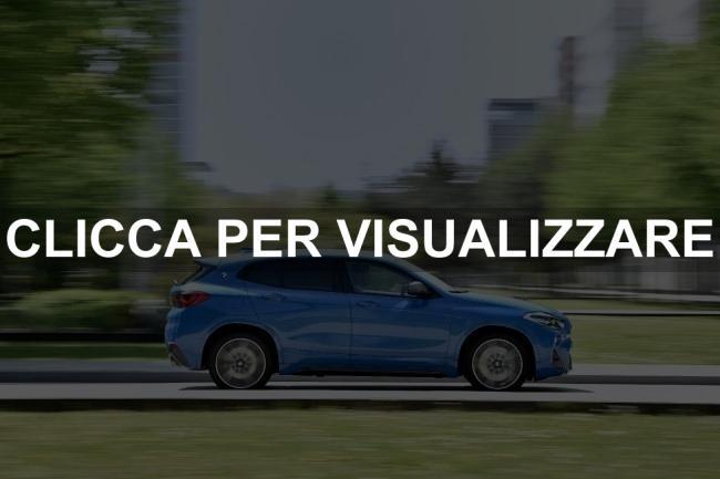 Immagine fiancata nuova BMW X2 M35i 2019