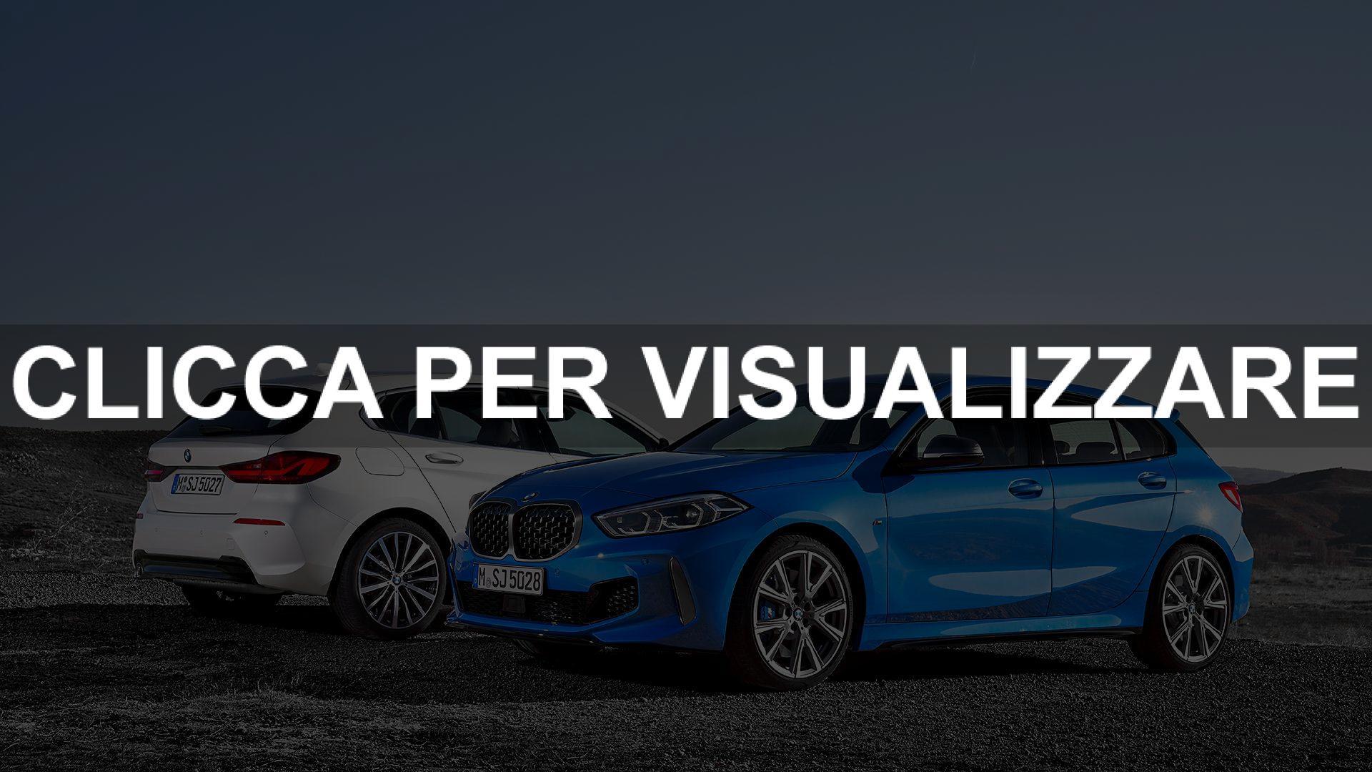 Immagini nuova BMW Serie 1 2019 e data uscita