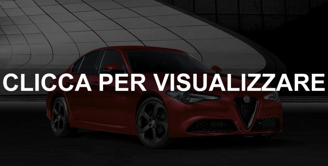 Nuova Alfa Romeo Giulia Sport Tech 2019 promozione