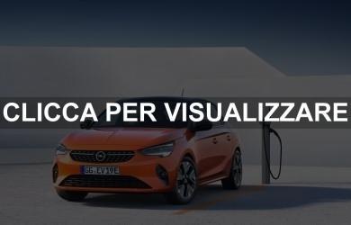 Nuova Opel Corsa e 2019