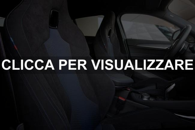 Sedili sportivi nuova BMW X2 M35i