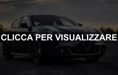Alfa Romeo Giulietta Veloce Carbon Edition 2019