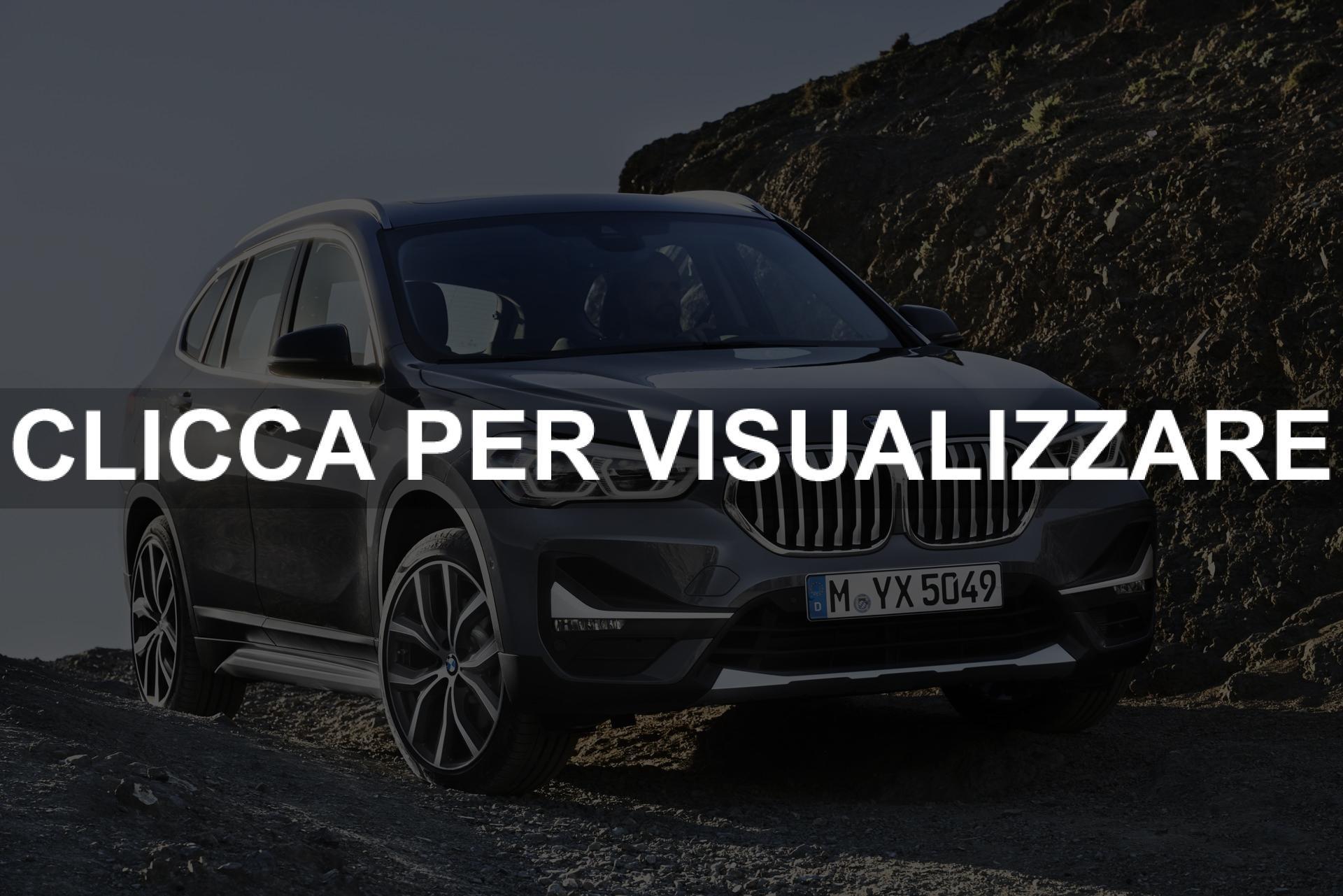 Foto nuova BMW X1 2019 Restyling