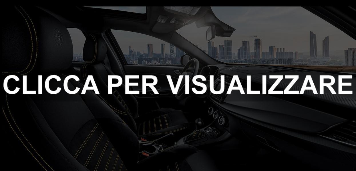 Interni Alfa Romeo Giulietta Carbon Edition 2019