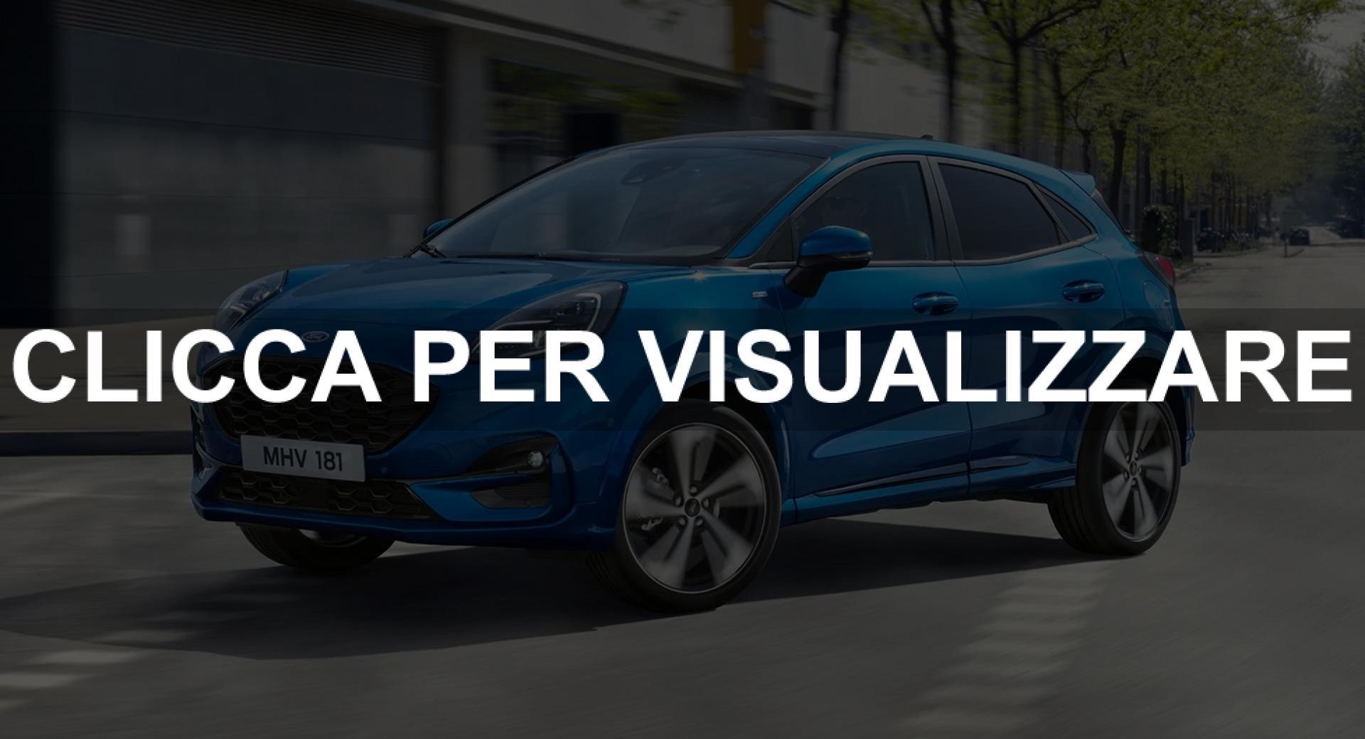 Nuova Ford Puma 2020 Foto
