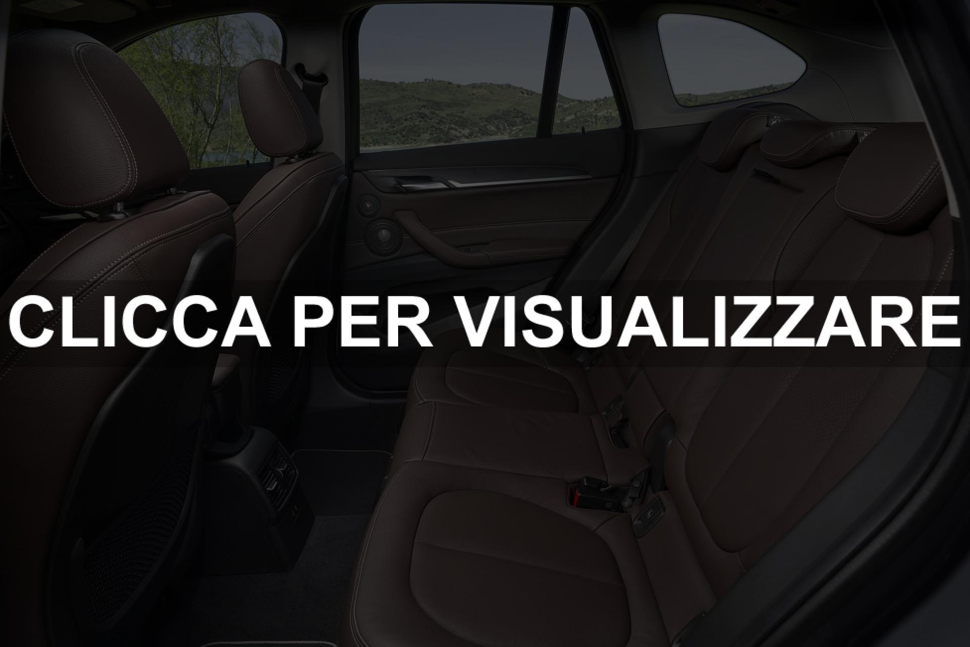 Sedili posteriori nuova BMW X1 2019